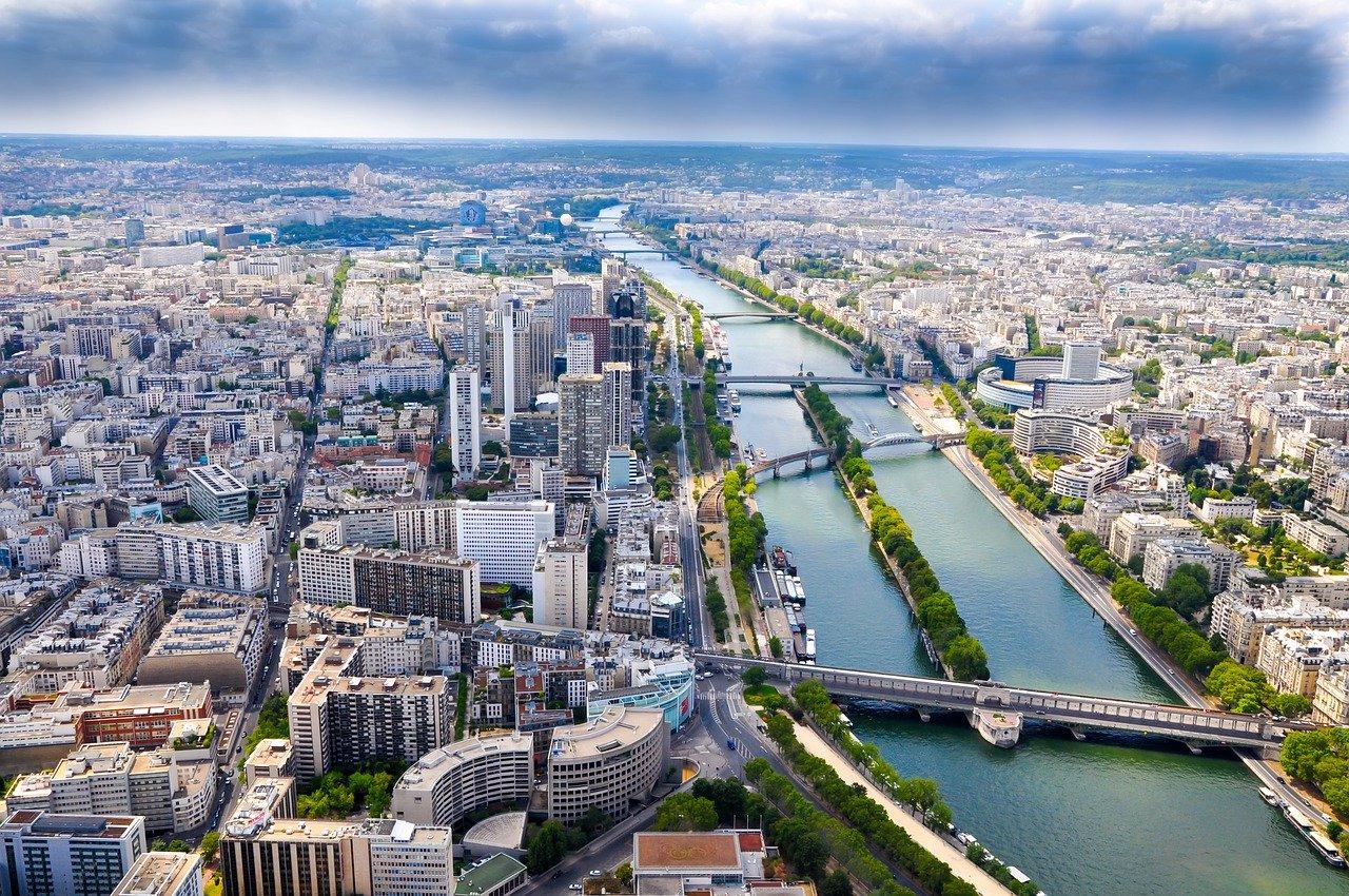 fotos de paris rio sena