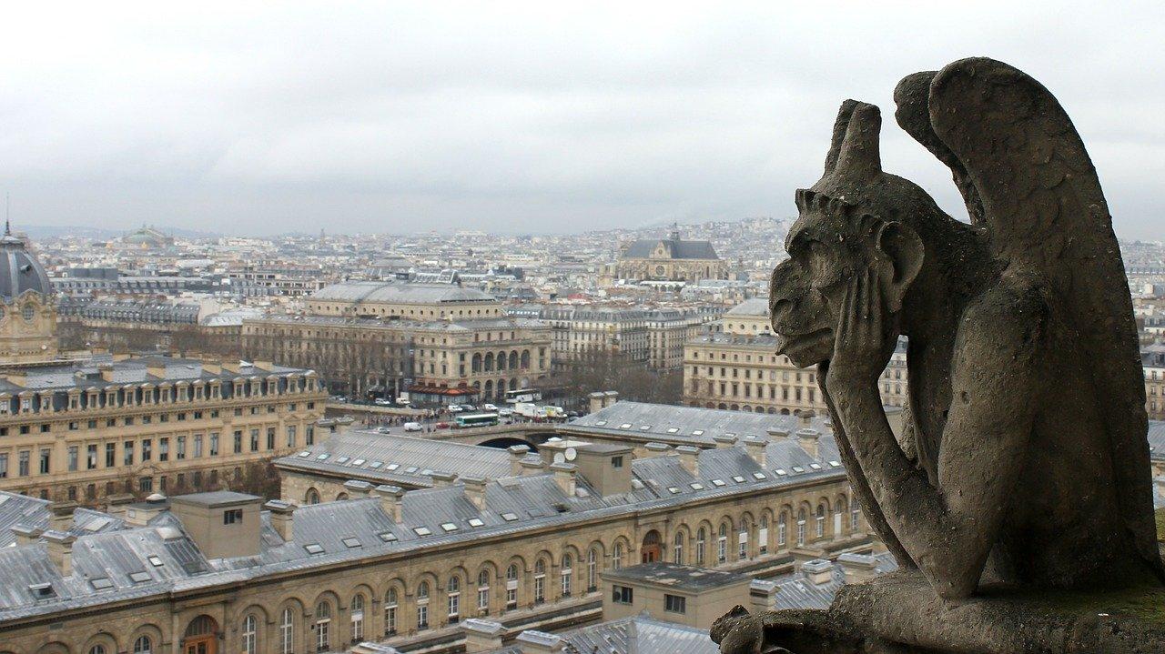 fotos de Paris catedral de notre dame