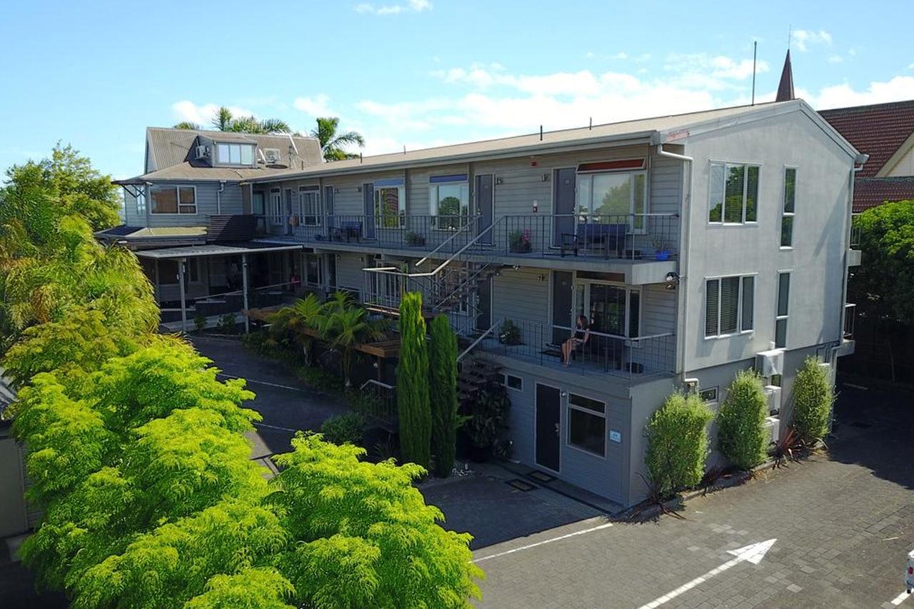 hospedagem no Centro de Auckland