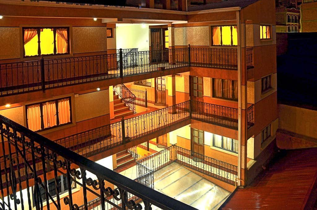 la paz hotéis baratos