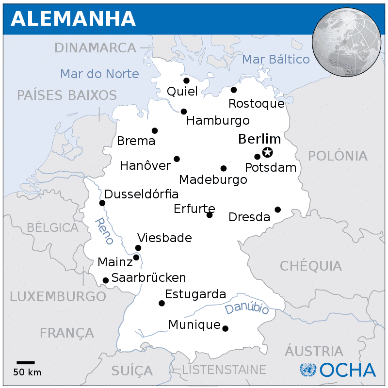 alemanha mapa