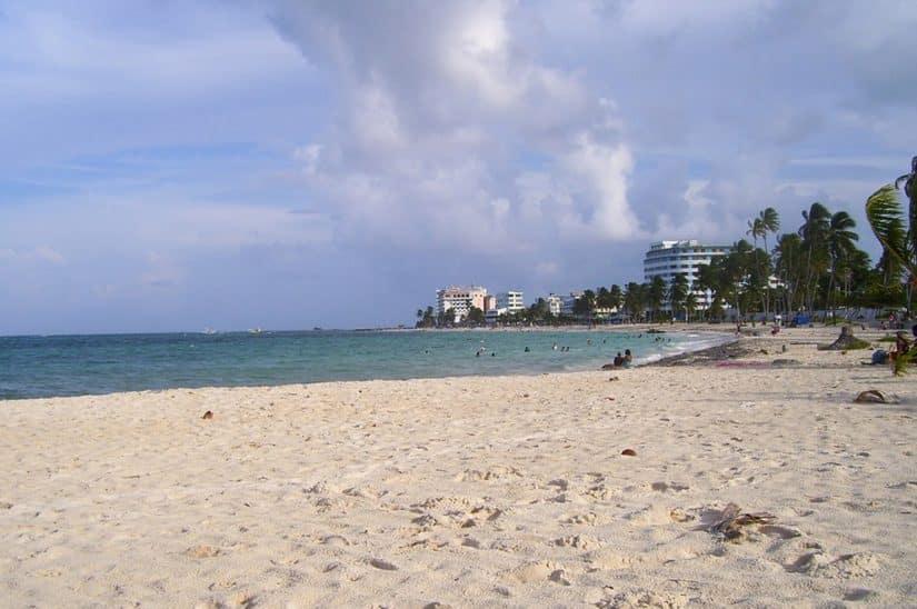praia principal de san andrés
