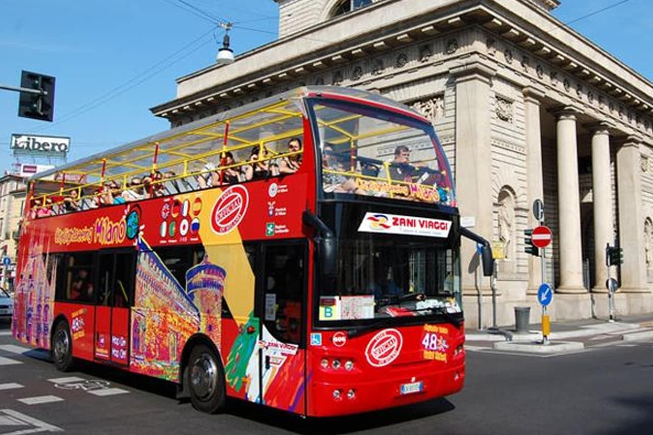 Ônibus Hop-on Hop-off Milão