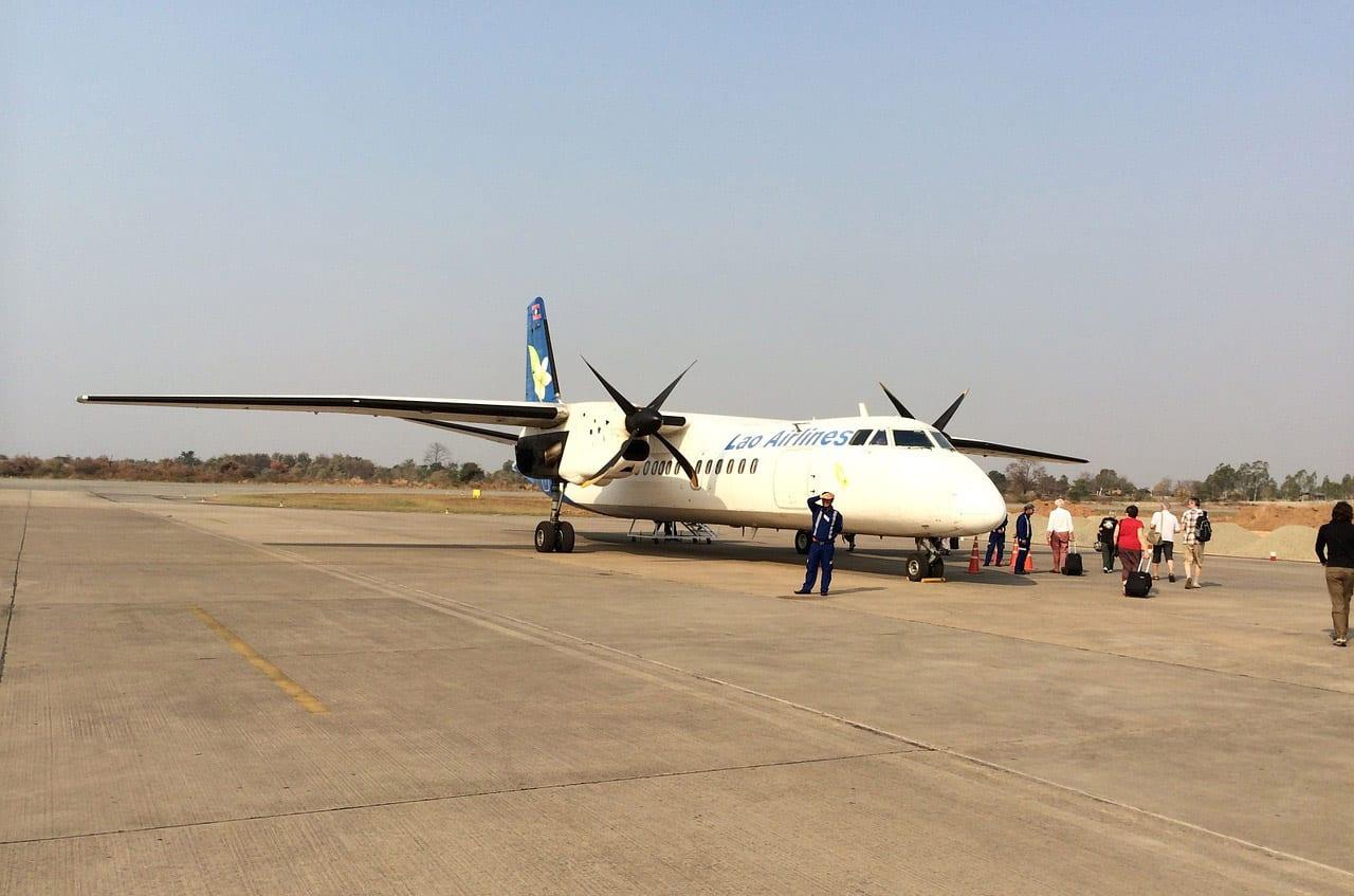 Transporte no Laos