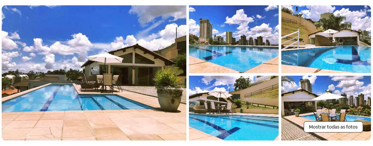 casa com piscina em BH