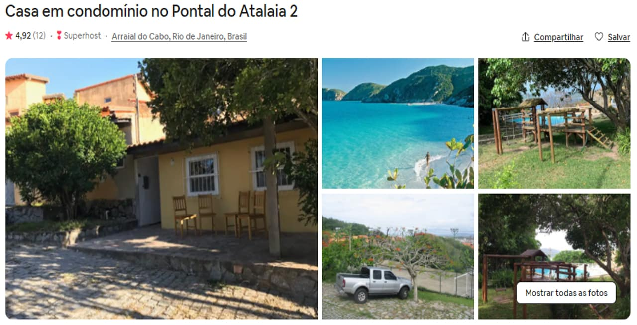 airbnb cabo frio