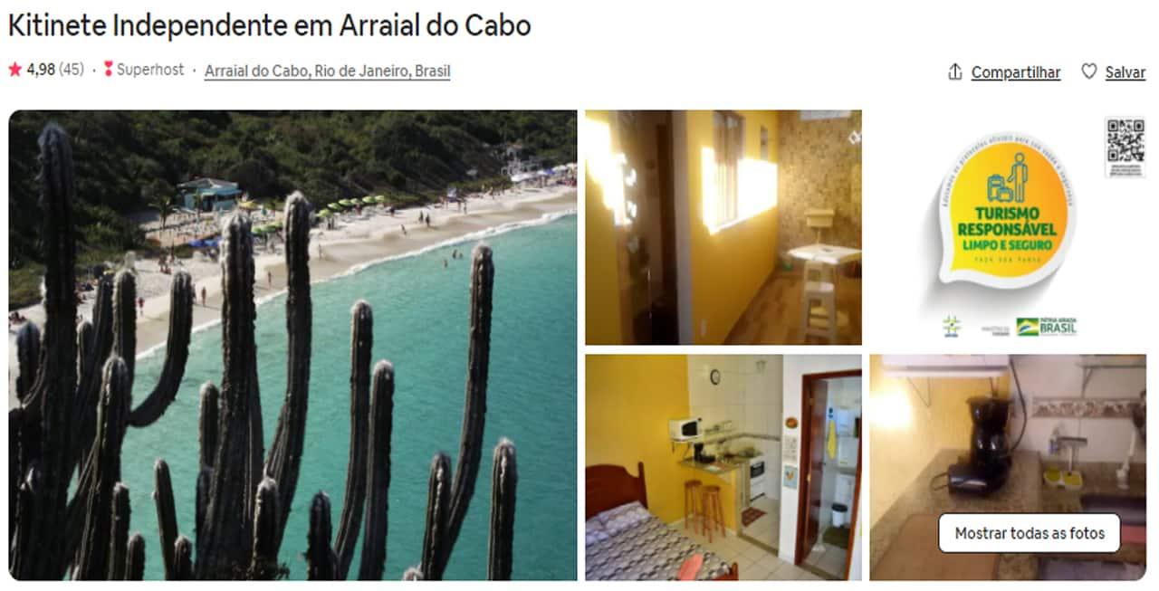 airbnb arraial do cabo quarto