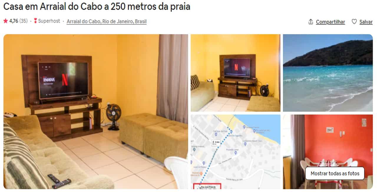 airbnb arraial do cabo baratos