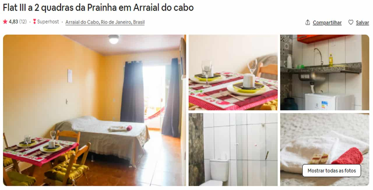 airbnb arraial do cabo petfriendly