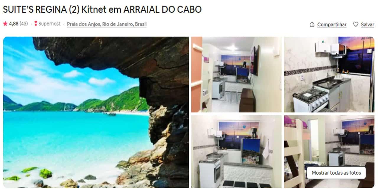 airbnb arraial do cabo para familia