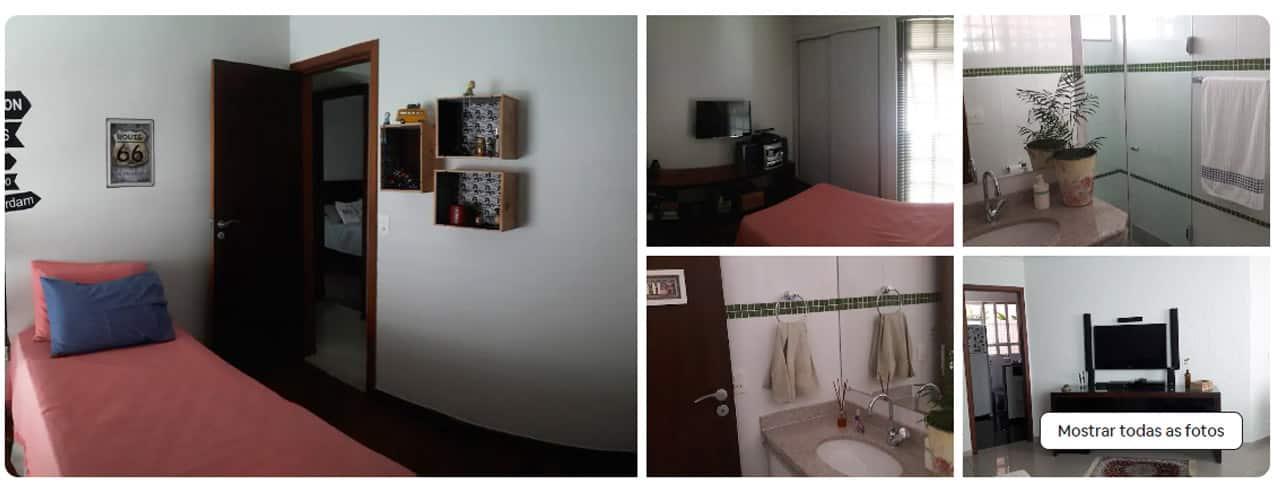 airbnb bh Pampulha