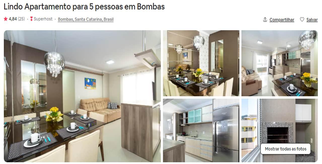 Lugares para ficar em Bombas