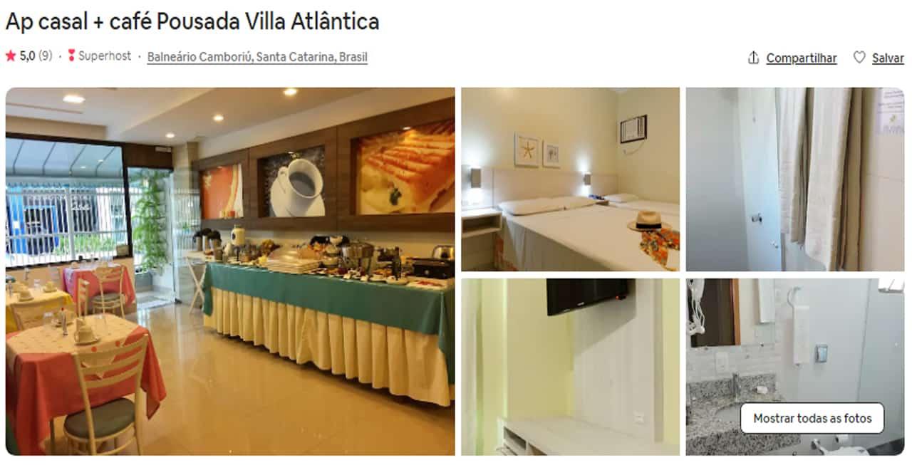 Airbnb Bombinhas mariscal