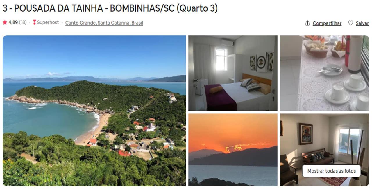 Airbnb Bombinhas
