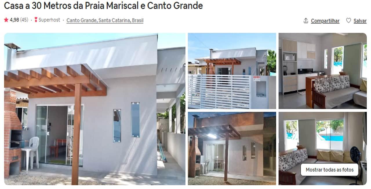 Airbnb Bombinhas santa catarina