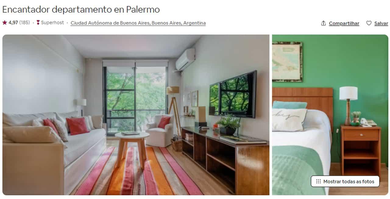 Airbnb Buenos Aires loft