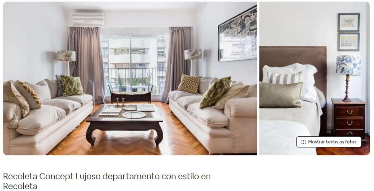 Airbnb Buenos Aires apartamento