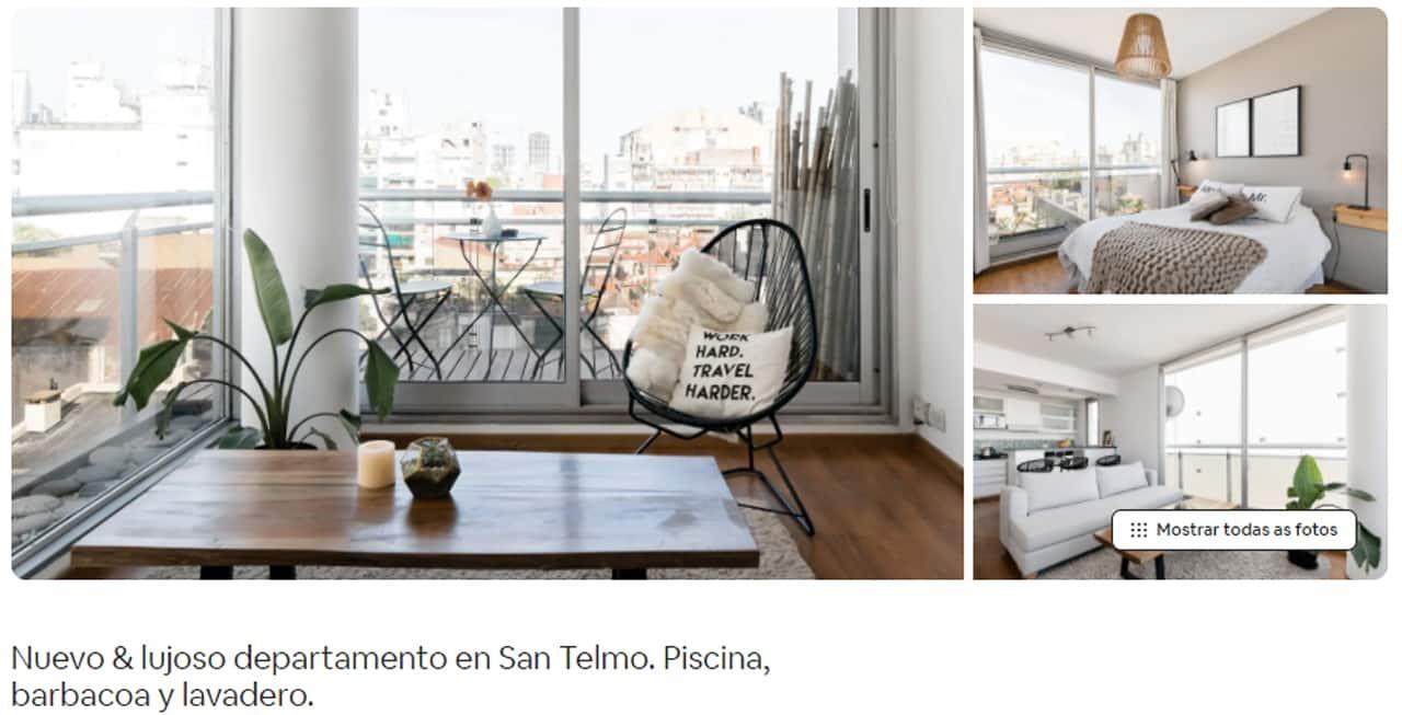 Airbnb Buenos Aires san telmo