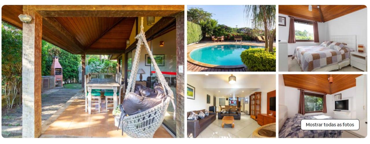 Casa com piscina Búzios Airbnb