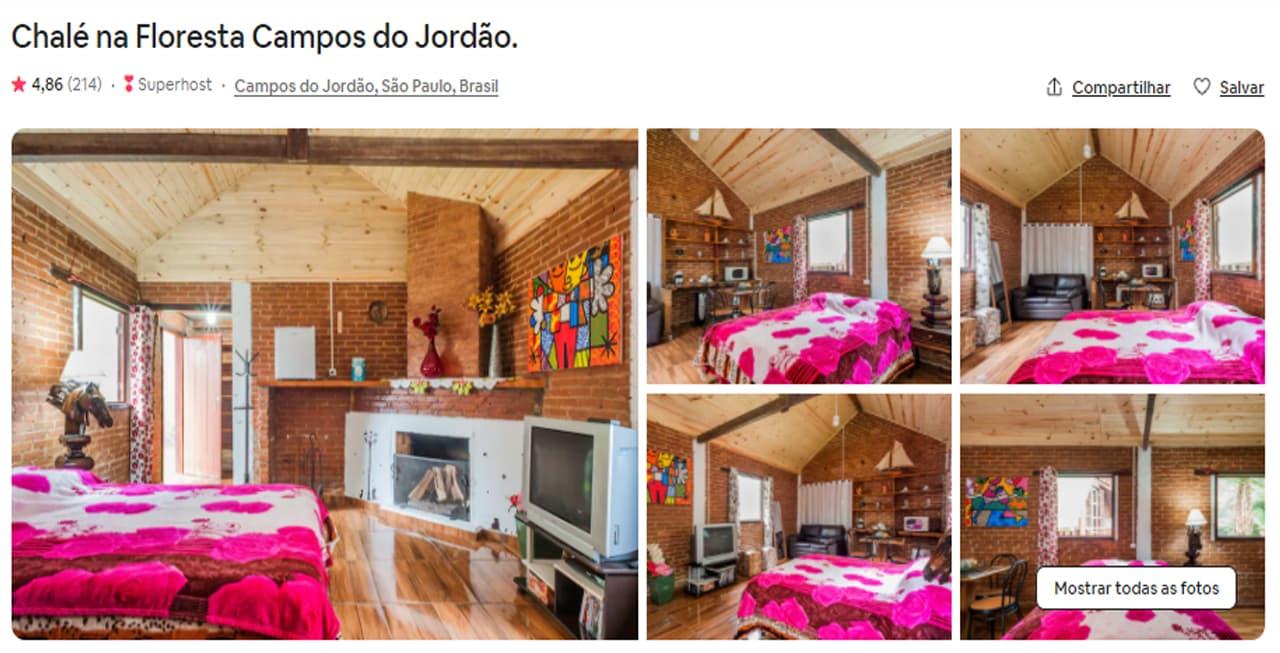 airbnb campos do jordão para familia