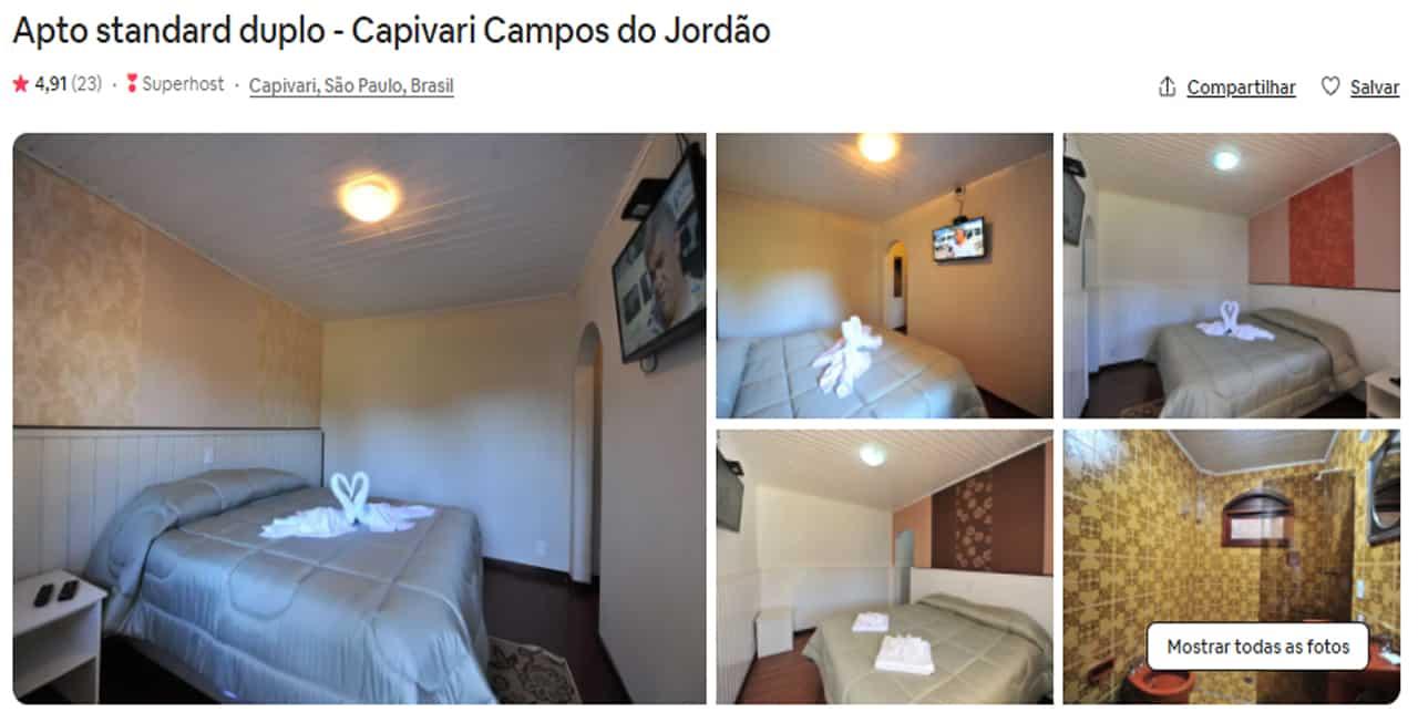 airbnb campos do jordão chales