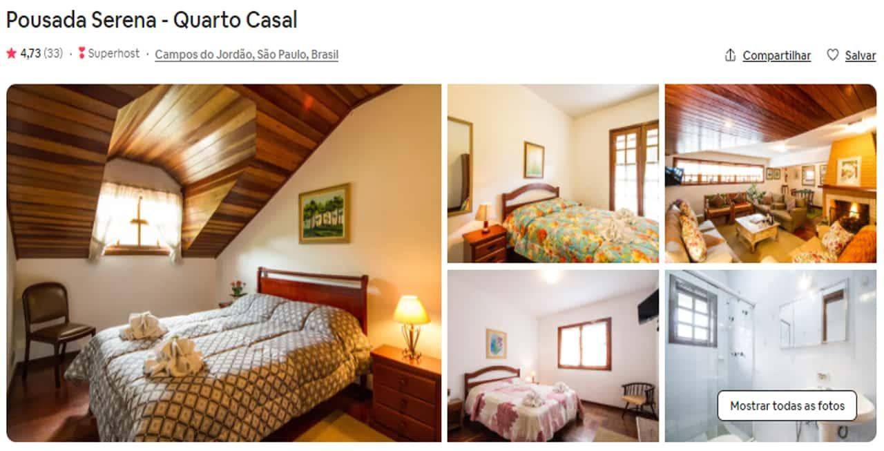 airbnb campos do jordão apartamento