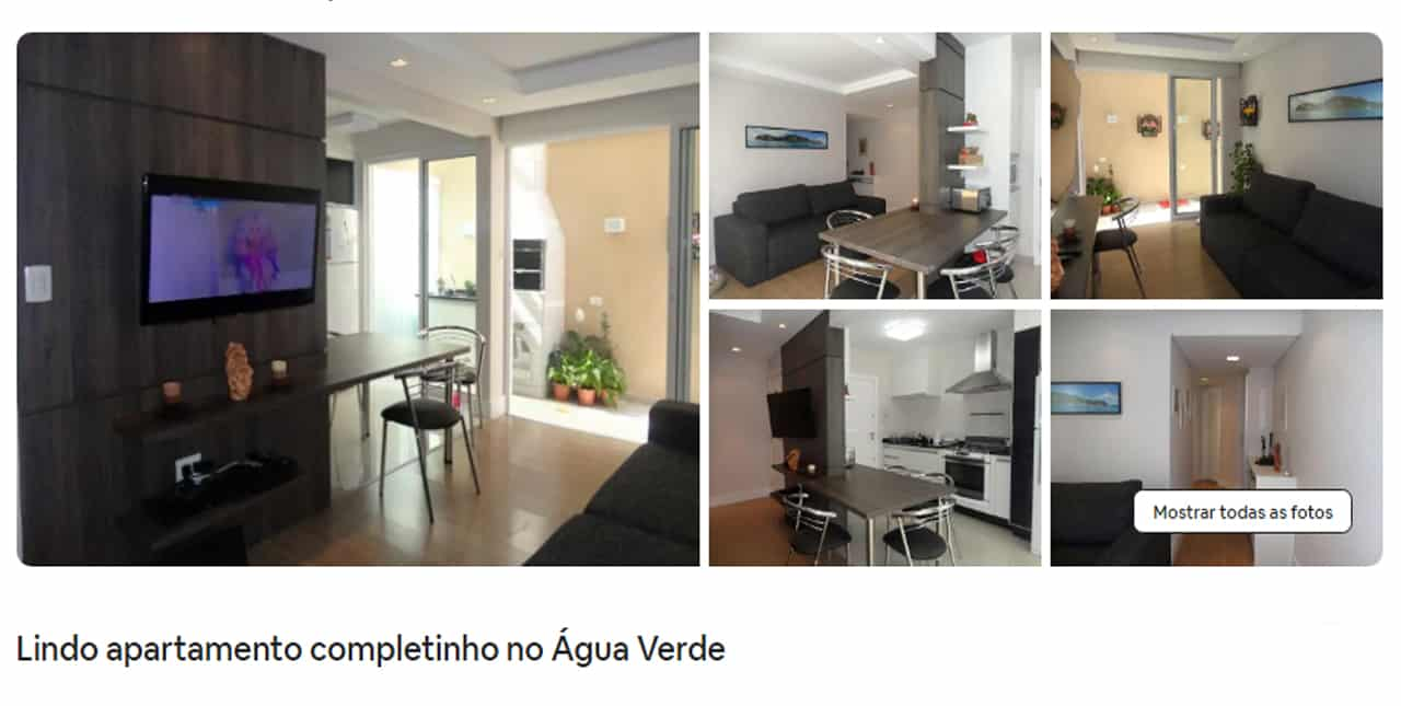 Airbnb Curitiba room