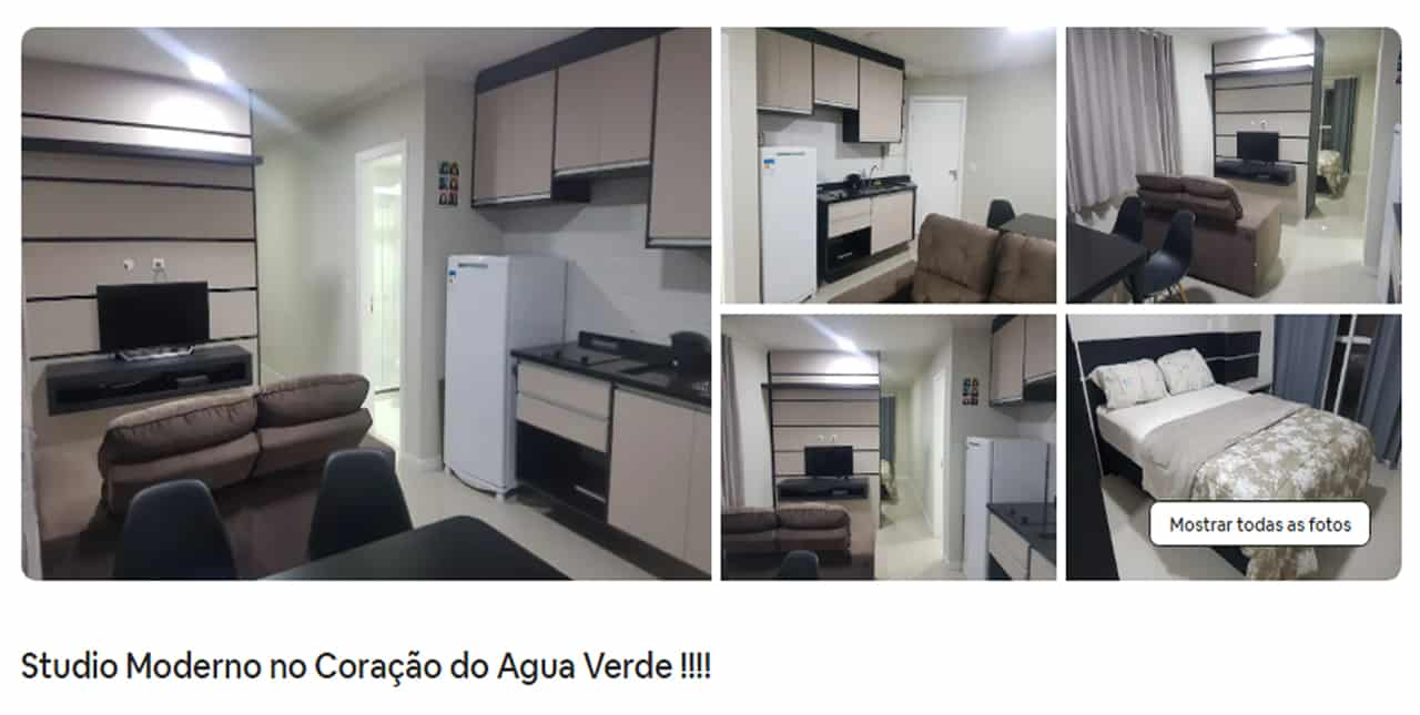 Airbnb Curitiba apartamento