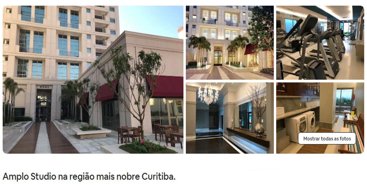 Airbnb Curitiba batel