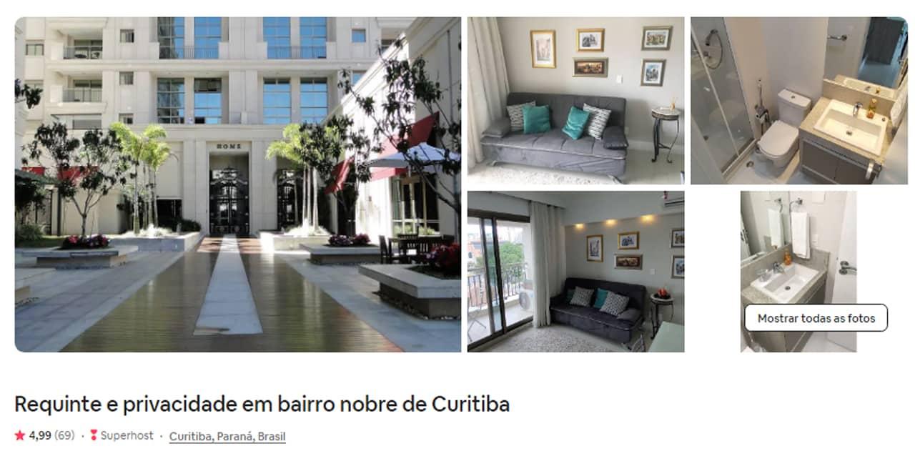 Airbnb Curitiba studio