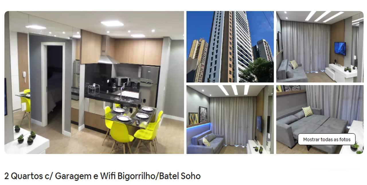 Airbnb Curitiba batel soho