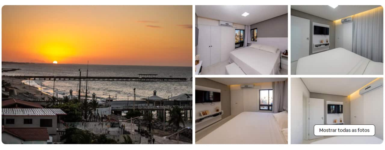 airbnb em Fortaleza Praia de Iracema