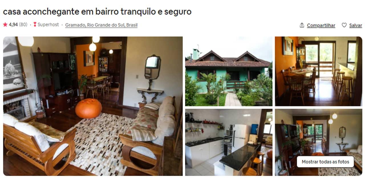 Airbnb Gramado perto da Snowland