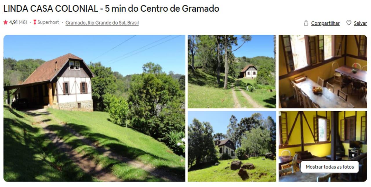 Airbnb Gramado lago negro
