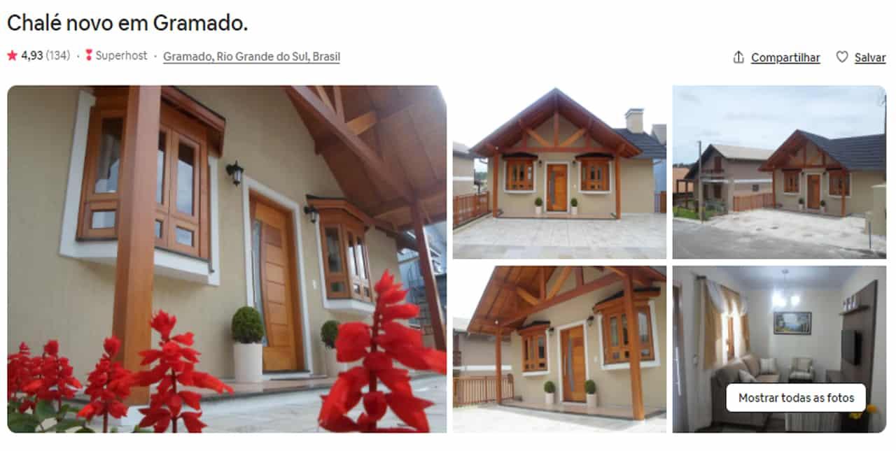 melhores Airbnb Gramado