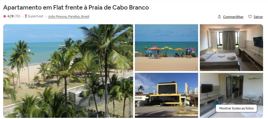 Airbnb João Pessoa apartamento