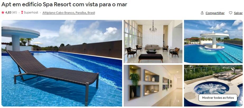 Airbnb João Pessoa quarto