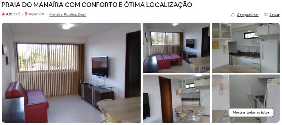 Apartamentos para alugar em JP