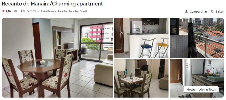 Airbnb João Pessoa familia