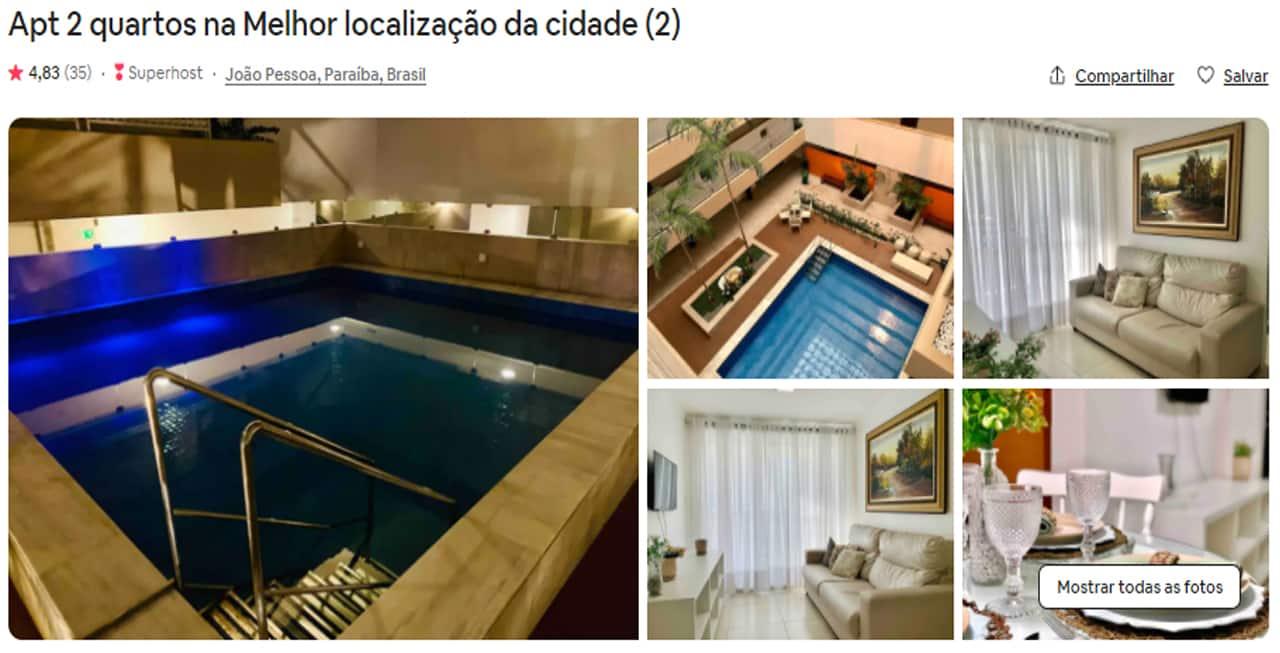 Airbnb João Pessoa tambau