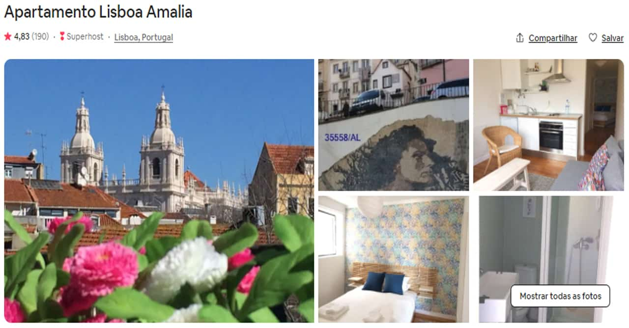 Airbnb Lisboa alfama