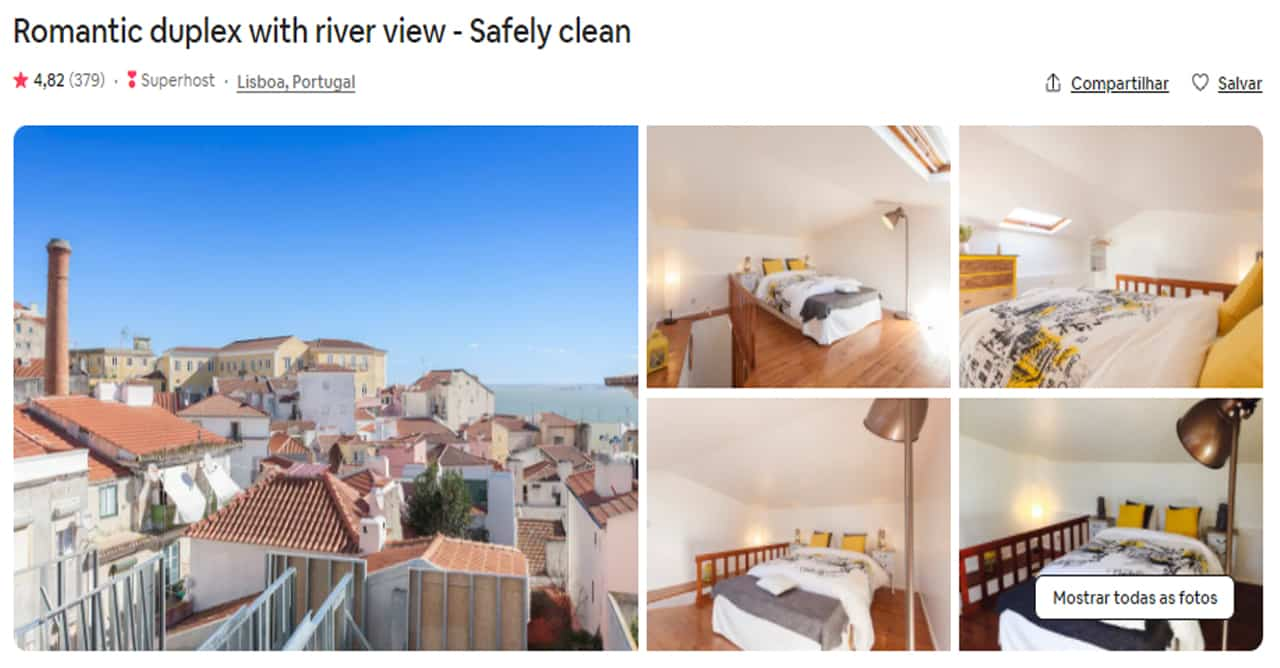 Airbnb Lisboa flat
