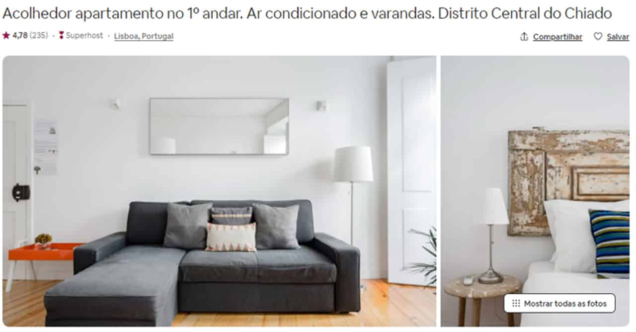 Airbnb Lisboa dicas
