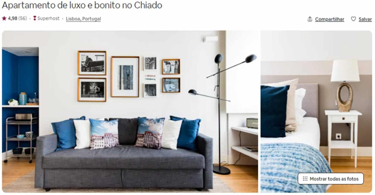 Airbnb Lisboa bairro alto