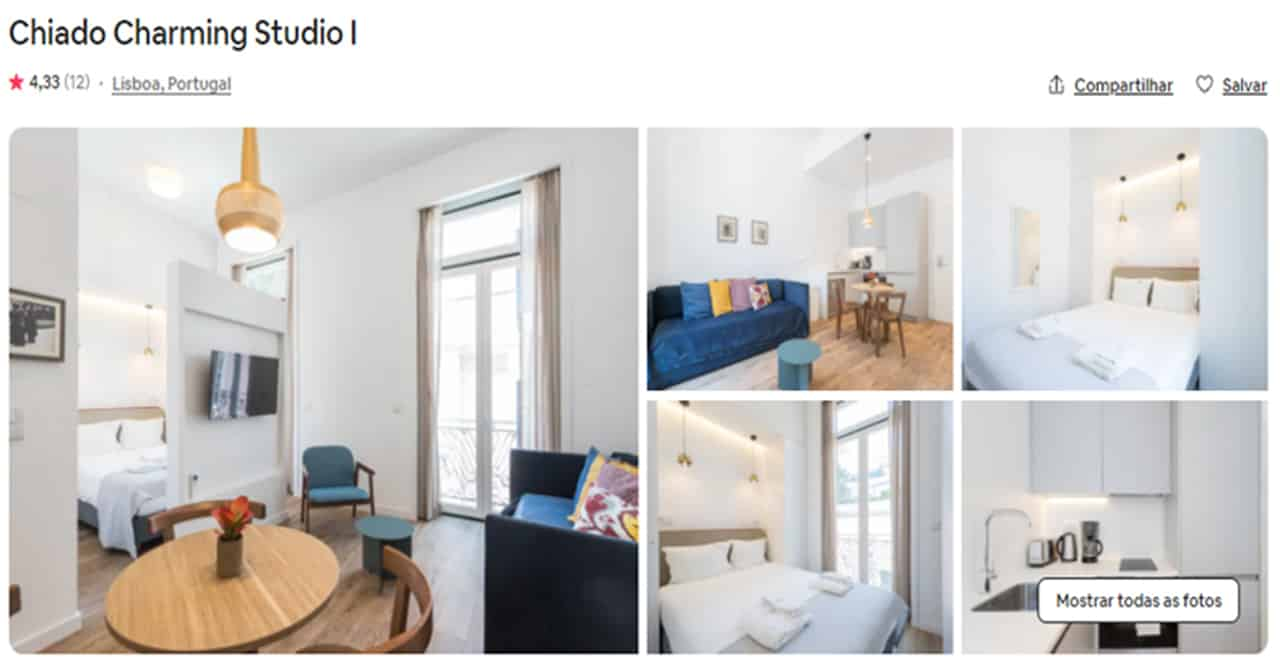 Airbnb Lisboa chiado