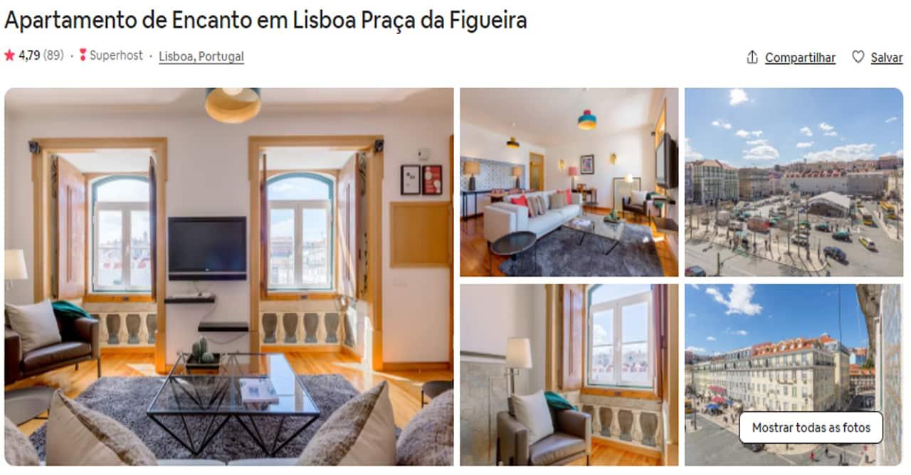 Airbnb Lisboa Praça da Figueira