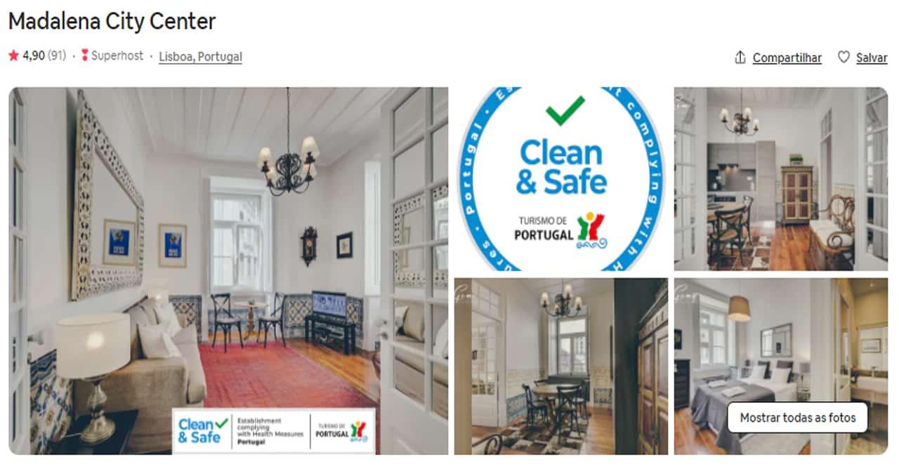 Airbnb portugal Lisboa para familia