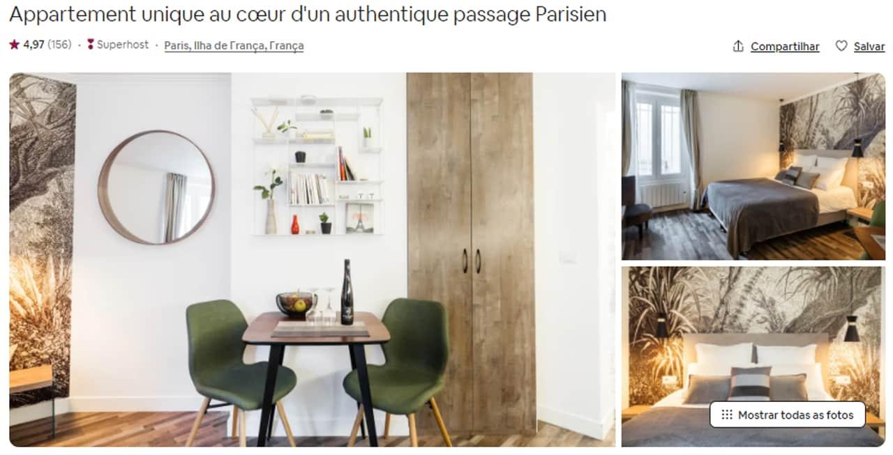 Airbnb Paris centro