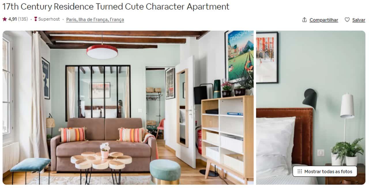 Airbnb Paris vale a pena