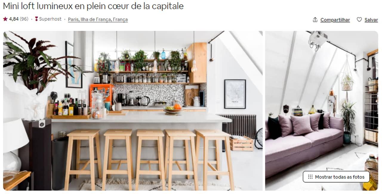 airbnb hotéis
